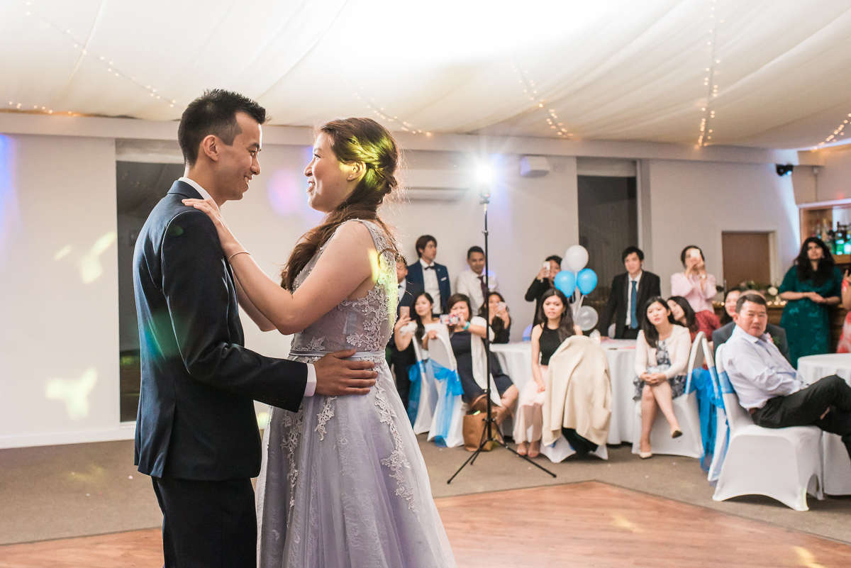 First Dance at the Beaverwood Club