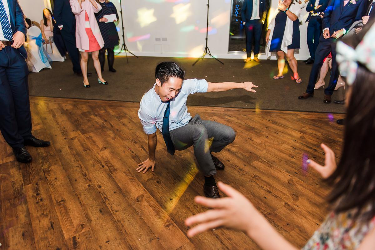 Dance floor shot at the Beaverwood Club