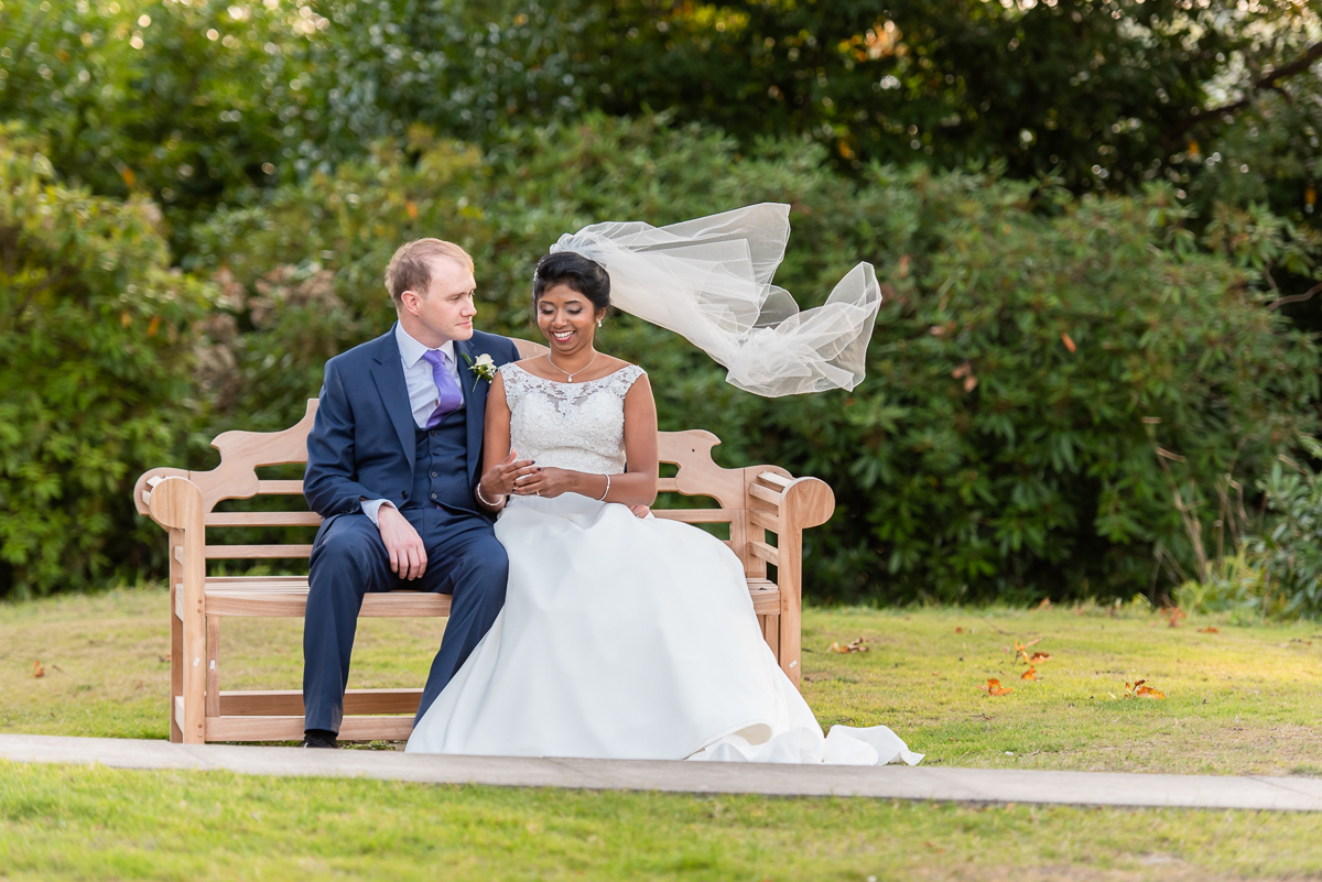 Bromley Court Hotel portrait session in the garden