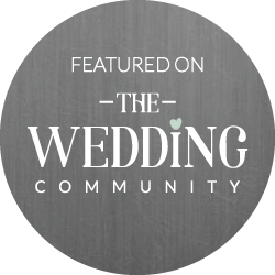 the wedding community featured badge by Wedding Photographer South London