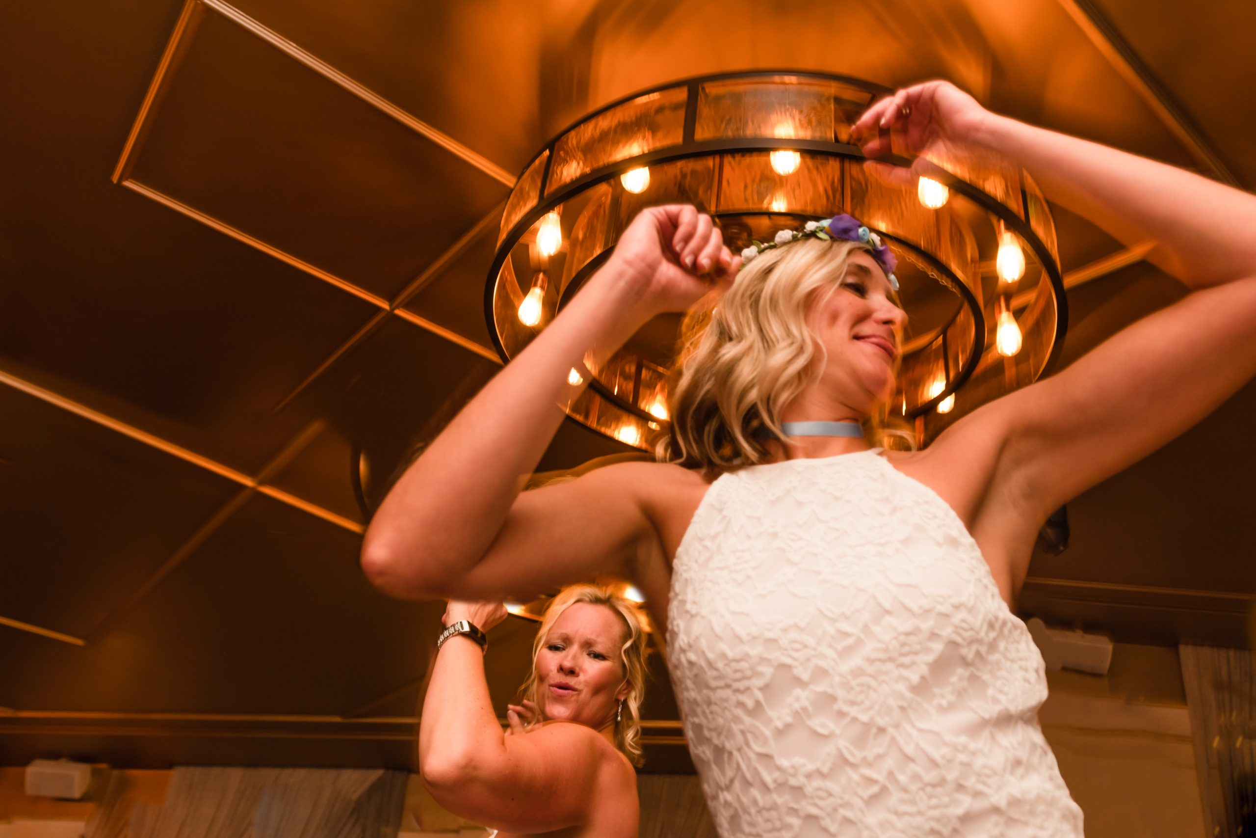 brides having their first dance. documentary wedding photographer in Kent Shot at the Bedford in London