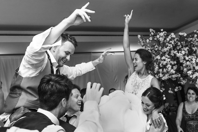 South London Wedding Photographer - Dance Floor Shot