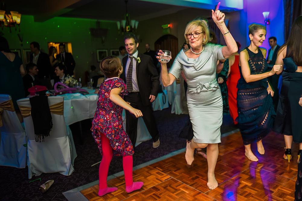 Dance floor shots during wedding day